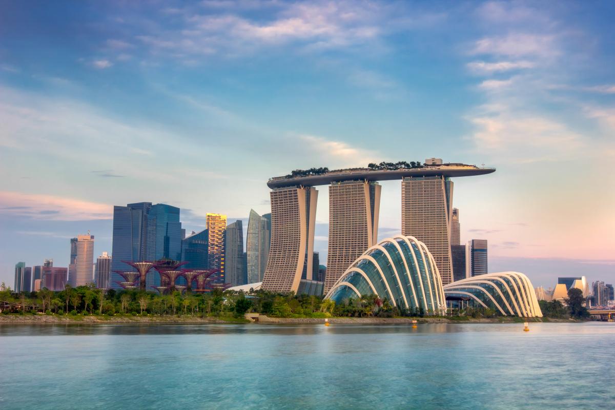 miejsce randkowe dla par w Singapurze